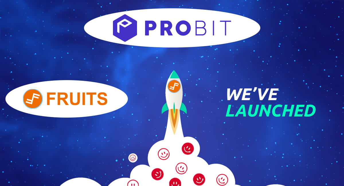 Fruits (FRTS) is Now Listed on ProBit Global