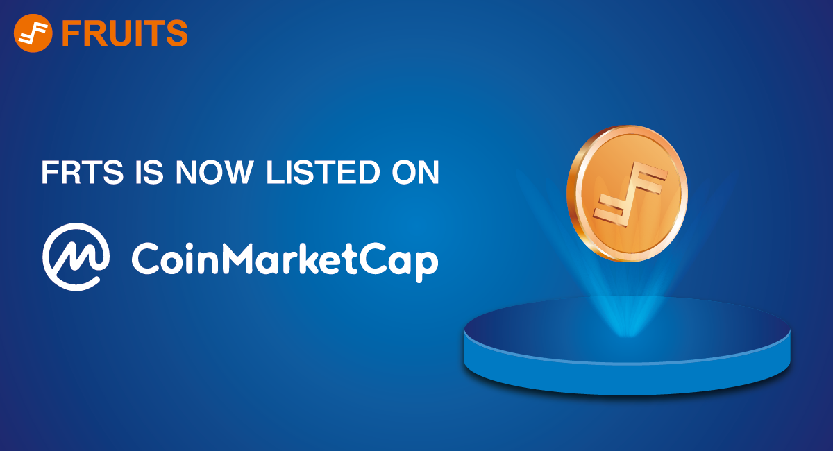 Fruits (FRTS) is Now Listed on CoinMarketCap