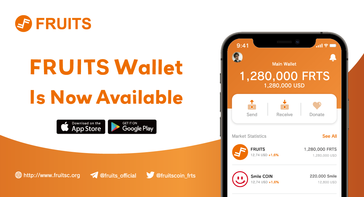Fruits Mobile Wallet Released!